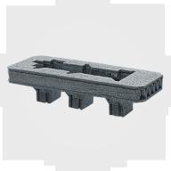 news-Lxshow-1625 Cnc Vibrating Knife Machine cut foam and flexible materials-img