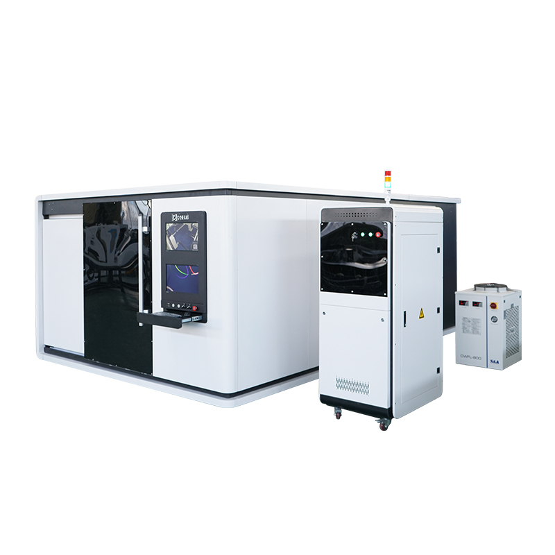 Protective cover / enclosed metal sheet fiber laser cutting machine LXFC1530 1000W 1500W 2200W metal plates fiber laser cutter