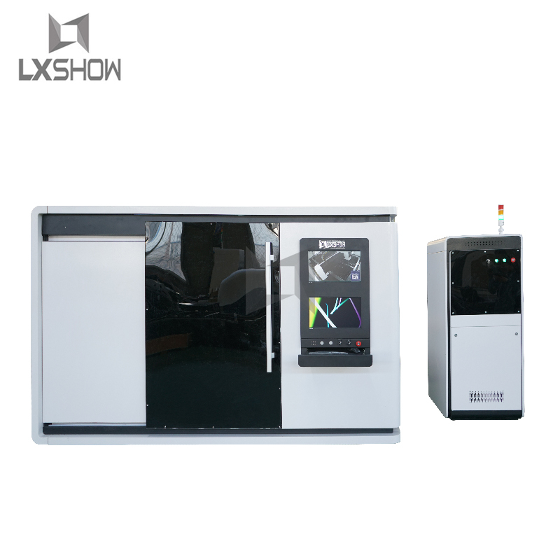 product-Lxshow-Protective cover enclosed metal sheet fiber laser cutting machine LXFC1530 1000W 150