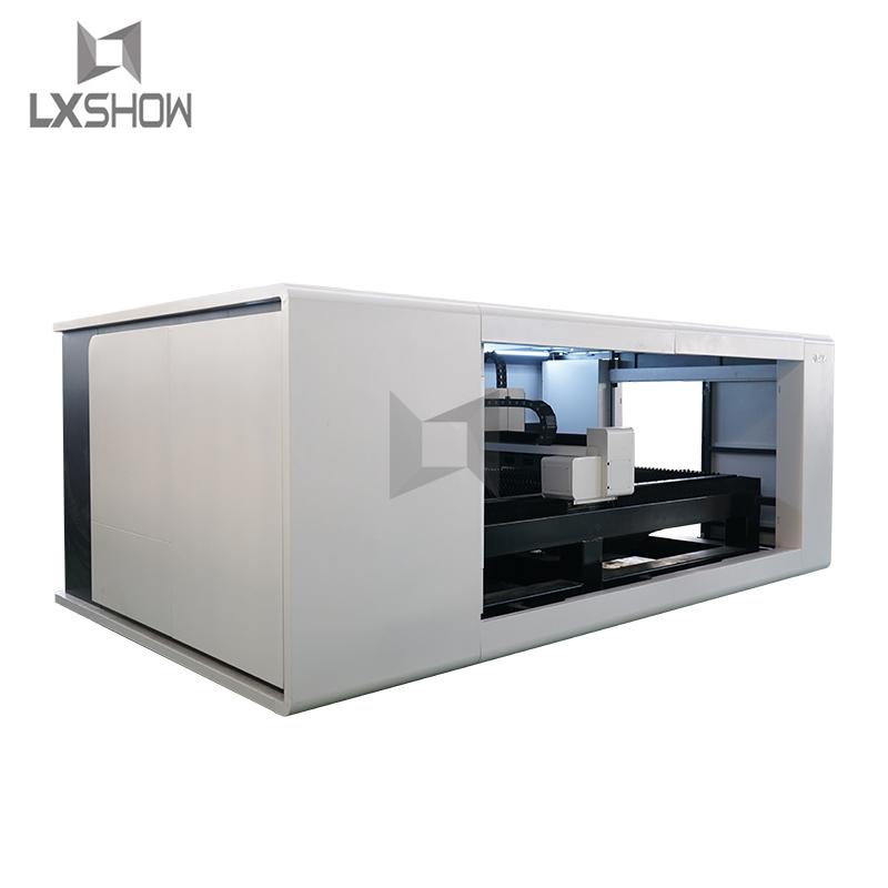 product-metal sheet fiber laser cutting machine-Lxshow-img-1