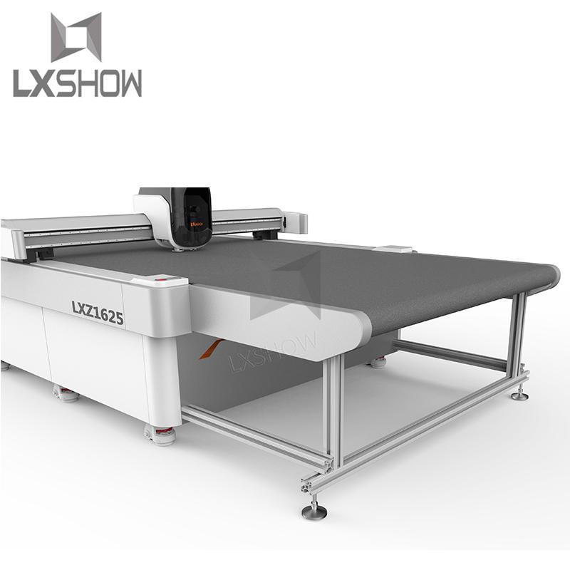 news-Lxshow-CCD Automatic Cnc Oscillating Knife Cutting Machine 1625-img