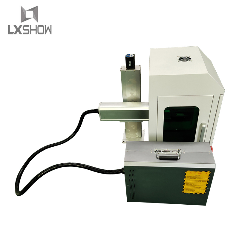 product-20W 30W 50W 100W closed protective cover mini portable Fiber laser marking machine factory d-1