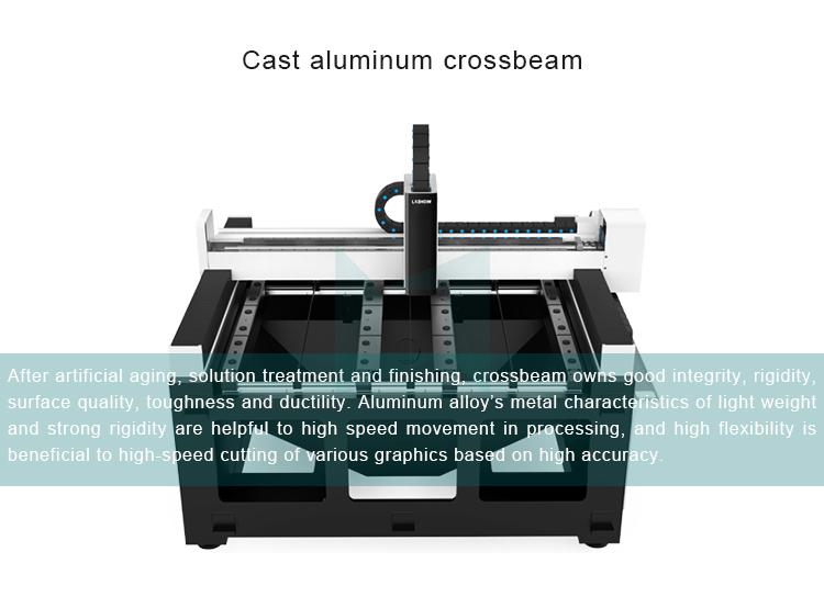 product-High Precision mini small fiber laser cutting machine LXF6060 with linear motor ball screw t