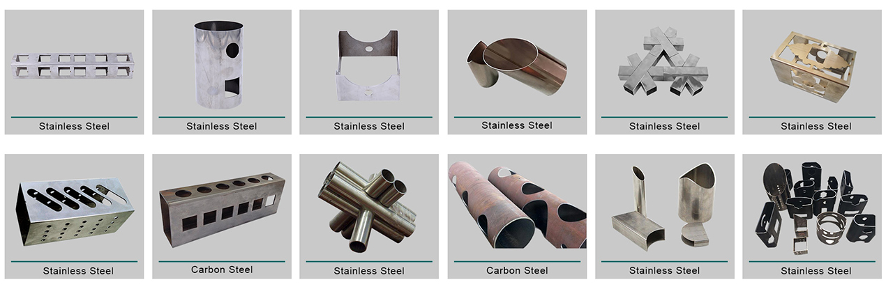 product-Round Square tube metal stainless steel carbon steel iron pipe fiber laser tube cutting mach-1