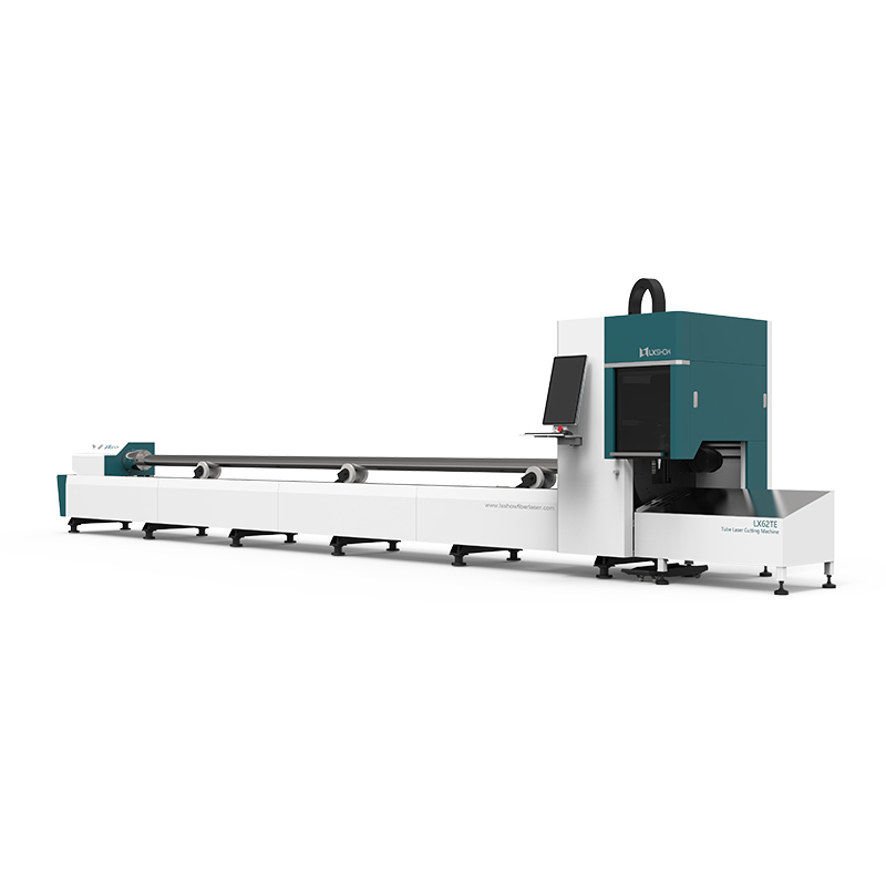 [LX62TE] Professinal pipe and tube fiber laser cutting machine 1kw 1.5kw 2kw 3kw 4kw 6kw 8kw for sale with diameter 160mm 220mm