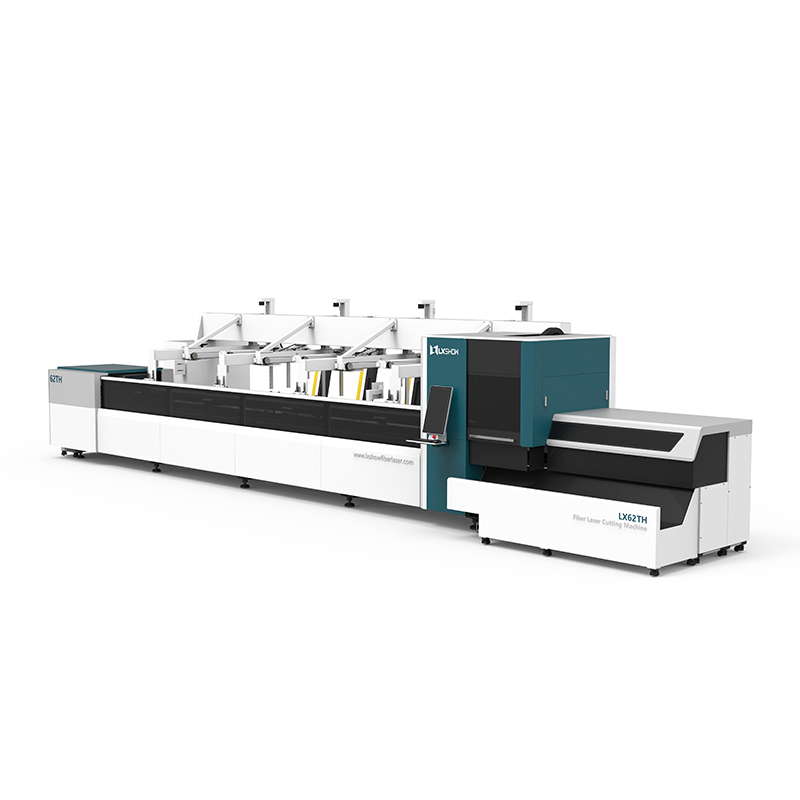 [LX62THA] Automatic Loading and Unloading Square tube and circle tube Metal pipe Fiber laser cutting machine 1000 1500 2000 3000 4000 6000 8000 watt