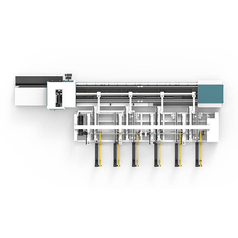 product-Lxshow-LX62THA Automatic Loading and Unloading Square tube and circle tube Metal pipe Fiber