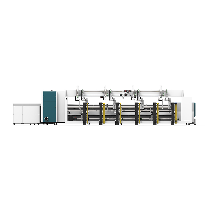 product-LX62THA Automatic Loading and Unloading Square tube and circle tube Metal pipe Fiber laser c-1