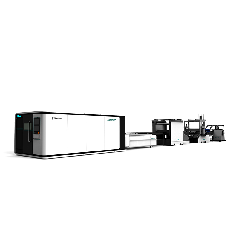 product-Lxshow-LX3015FL Solutions for a whole processing system 3015 enclosed fiber laser cutting cu