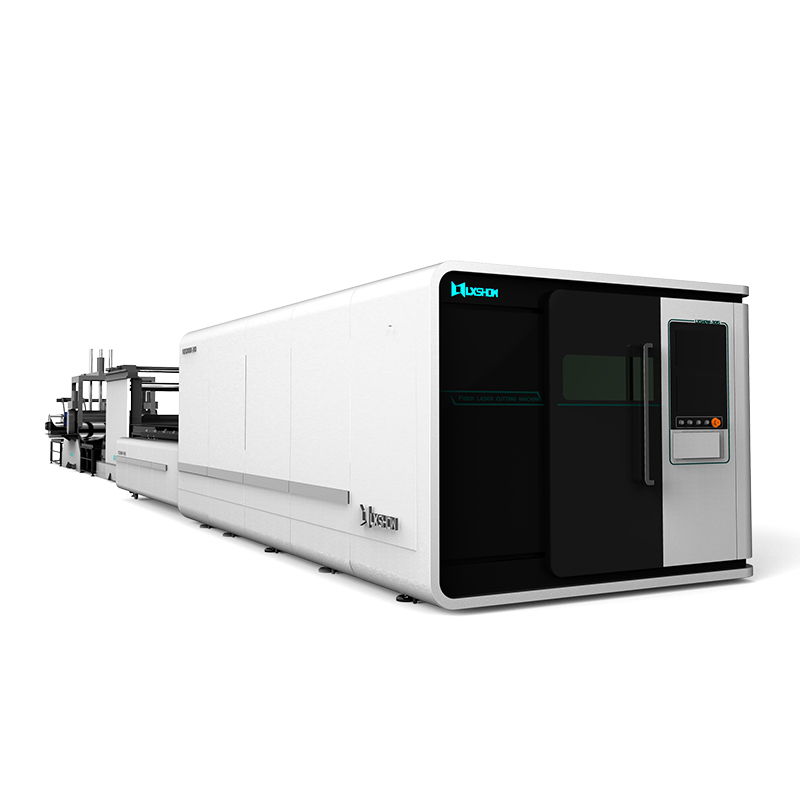 product-LX3015FL Solutions for a whole processing system 3015 enclosed fiber laser cutting cutter ma-1