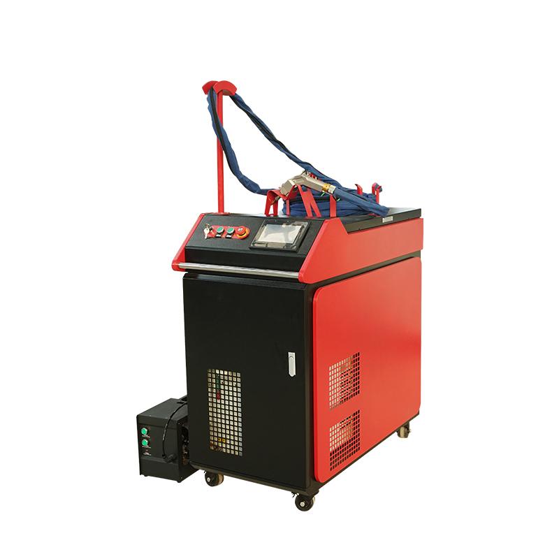 Portable small mini cnc Fiber laser welder welding machine price with laser course 1kw 1.5kw 2kw