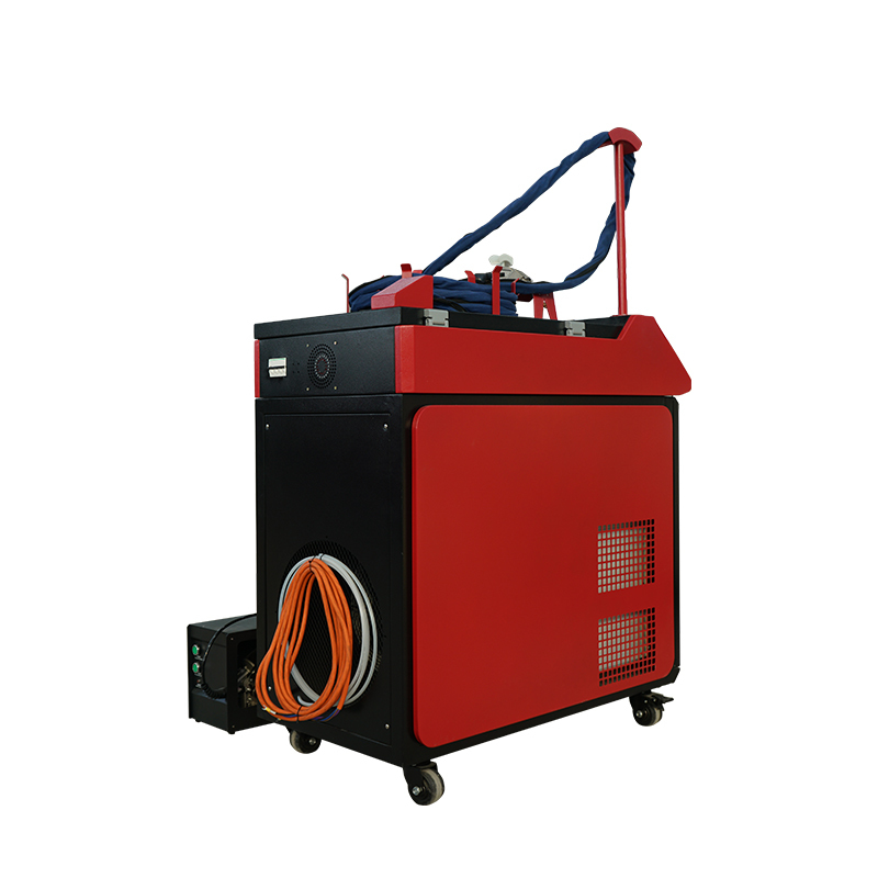 product-Lxshow-Portable small mini cnc Fiber laser welder welding machine price with laser course 1k