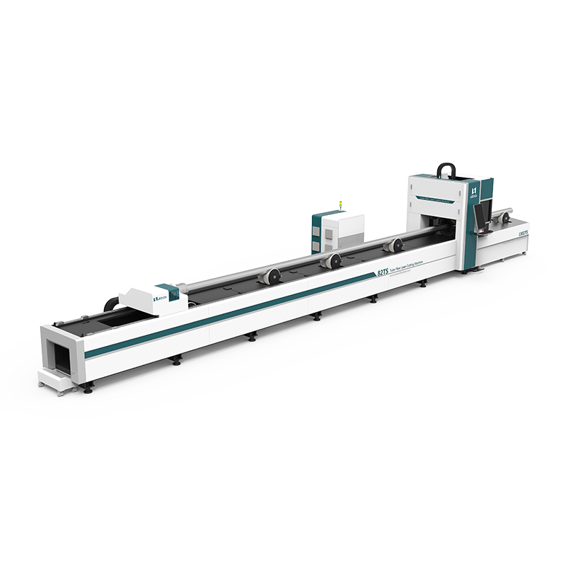 product-Lxshow-LX82TS Round Square tube ss cs aluminum metal pipe tube fiber laser cutter 1KW 15KW 2