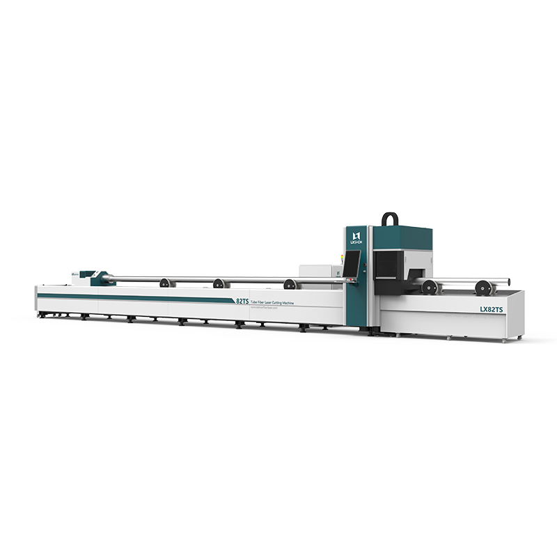 product-LX82TS Round Square tube ss cs aluminum metal pipe tube fiber laser cutter 1KW 15KW 2KW 3KW -1