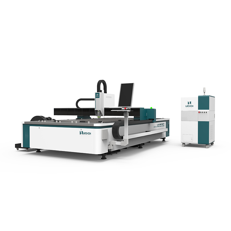 product-Lxshow-LX3015CT 1000w 1500w 2000w Cnc fiber laser cut for metal plate and tube LX3015C-img