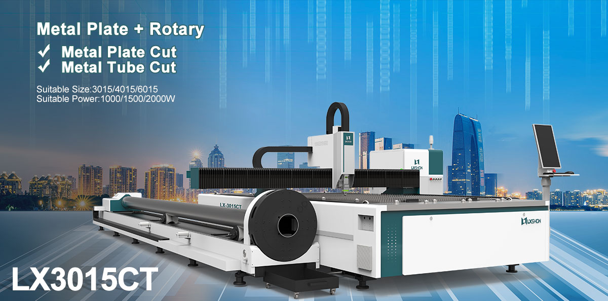 product-LX3015C 1000w 1500w 2000w Cnc fiber laser cut for metal plate and tube LX3015C-Lxshow-img