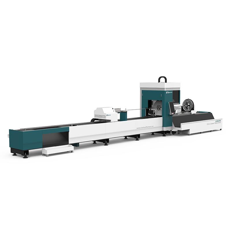 product-LX62ⅢCnc laser pipe cutting machine LX62Ⅲ Three-chuck heavy-duty laser pipe cutting machine--1