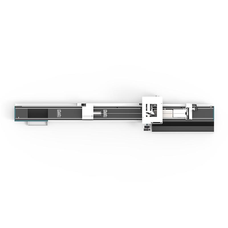 product-LX62ⅢCnc laser pipe cutting machine LX62Ⅲ Three-chuck heavy-duty laser pipe cutting machine--2