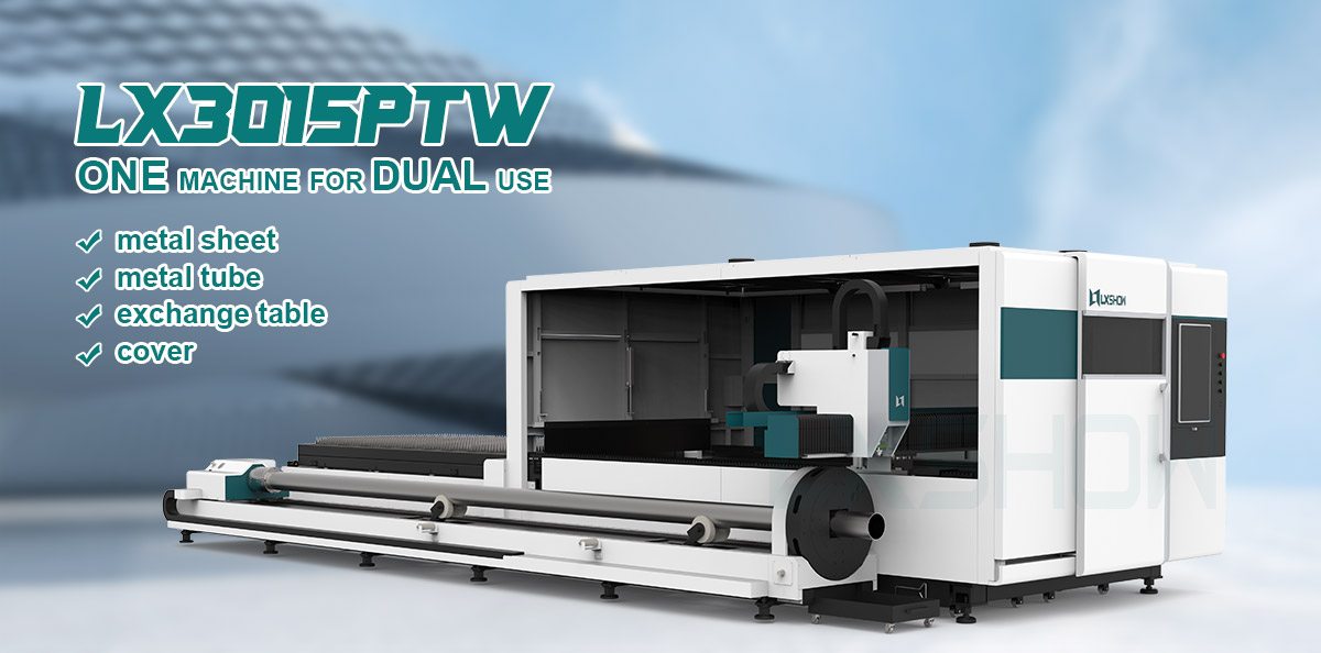 product-LX3015PTW 1000-20000W Sheet and pipe laser cutting machine LX3015PTW laser iron cutting mach