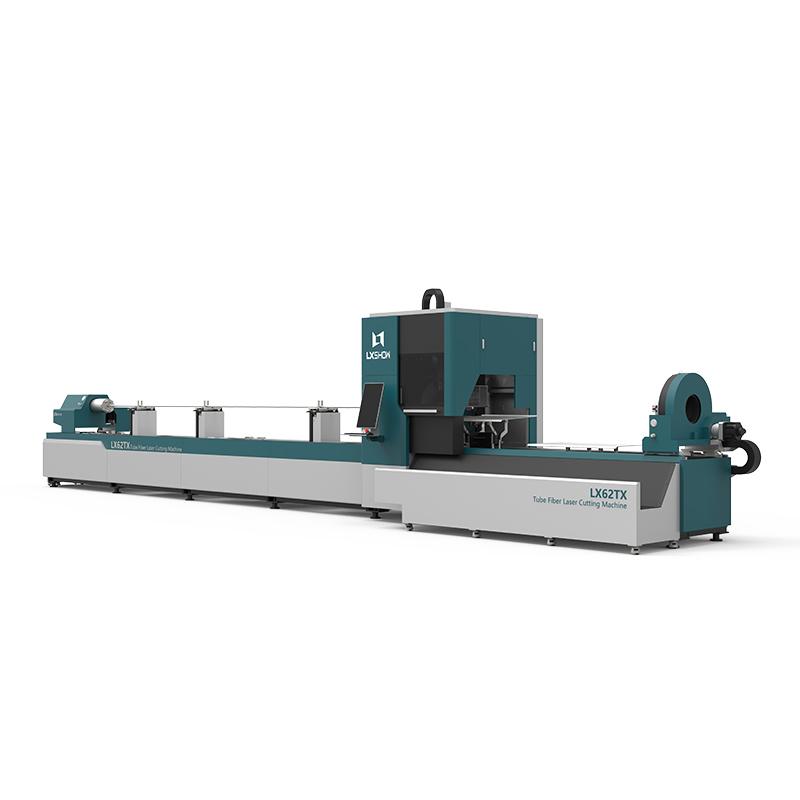 [LX62TX] Cnc laser pipe cutting machine LX62X Three-chuck heavy-duty laser pipe cutting machine