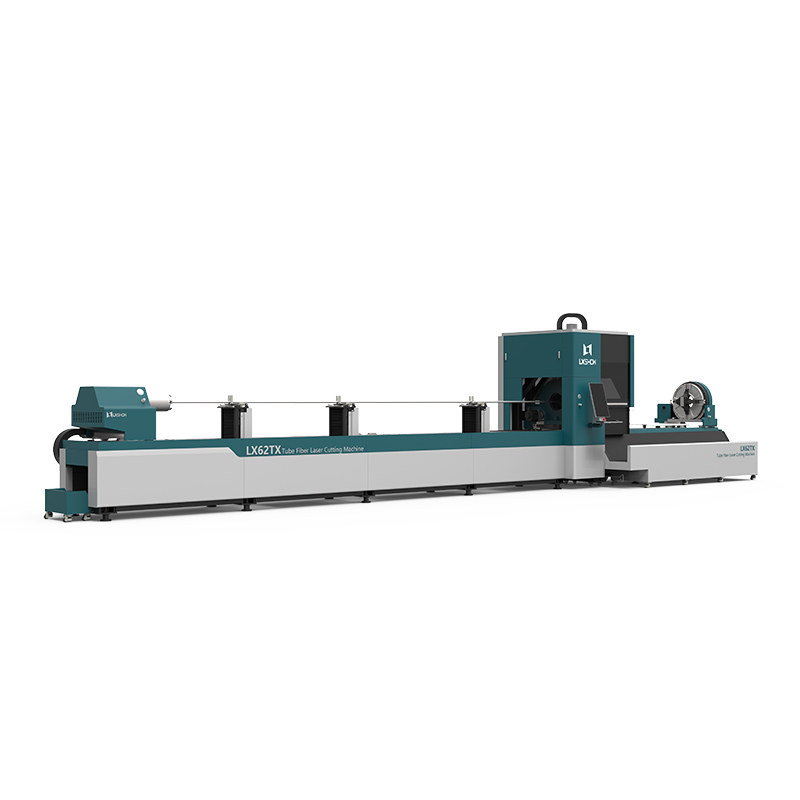 product-LX62TX Cnc laser pipe cutting machine LX62X Three-chuck heavy-duty laser pipe cutting machin-1