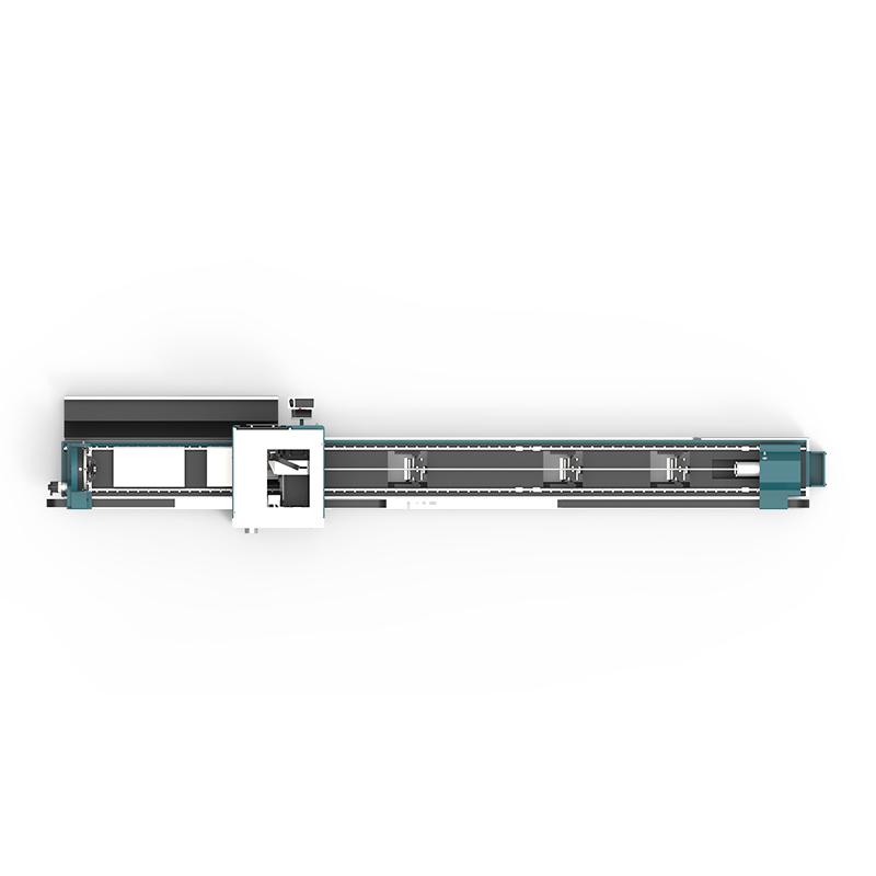 product-LX62TX Cnc laser pipe cutting machine LX62X Three-chuck heavy-duty laser pipe cutting machin-2