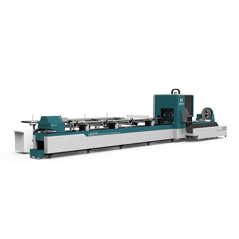 product-Lxshow-LX62TX Cnc laser pipe cutting machine LX62X Three-chuck heavy-duty laser pipe cutting