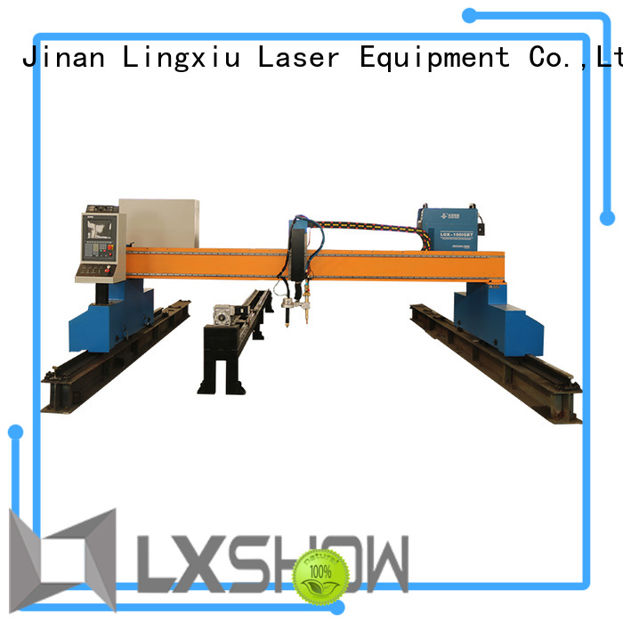 Lxshow accurate plasma cnc table wholesale for logo making