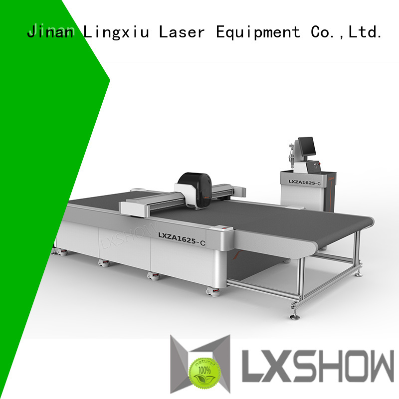 Lxshow sturdy fabric cutting machine directly sale for sponge