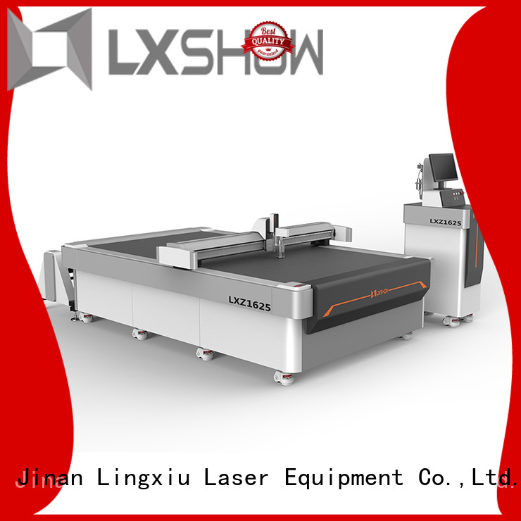 Lxshow practical cnc cutting factory price for gasket material