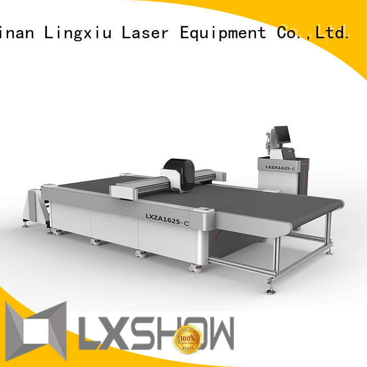 Lxshow fabric cutting machine promotion for carpets