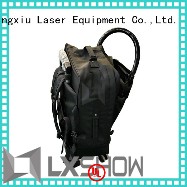 Lxshow laser clean rust manufacturer for workshop