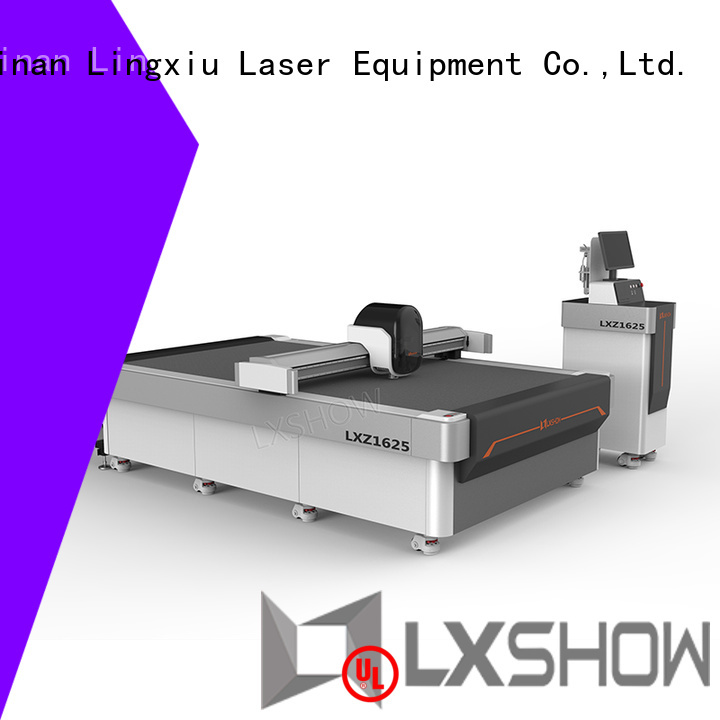 Lxshow good quality cnc router machine at discount for rubber, cloth