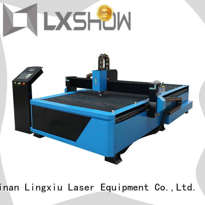 Lxshow table plasma cutting supplier for logo making