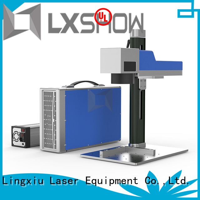 Lxshow efficient marking laser manufacturer for Cooker