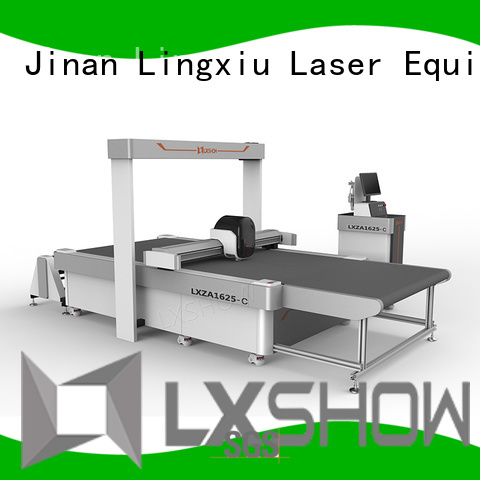 Lxshow foam cutting machine supplier for rugs