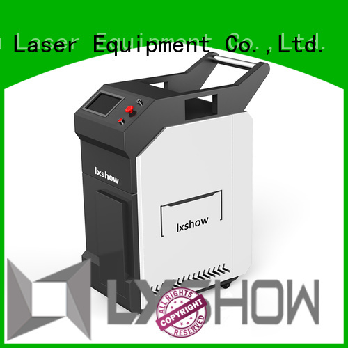 Lxshow hot selling laser cleaner wholesale for work plant
