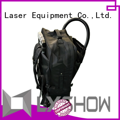 Lxshow durable laser clean rust factory price for workshop
