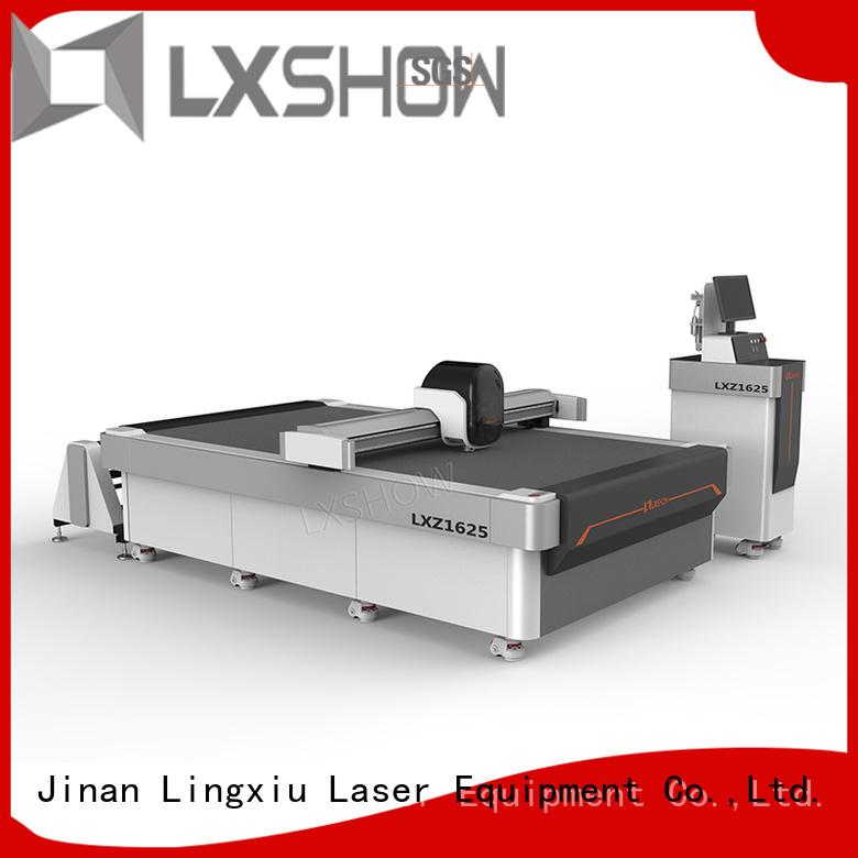 Lxshow fabric cutting machine manufacturer for garment cloth