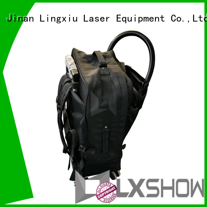 Lxshow laser cleaner manufacturer for factory