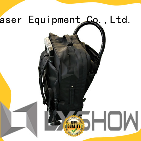 Lxshow good quality laser cleaner at discount for work plant