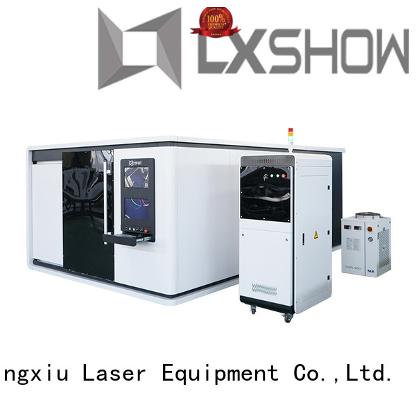 Lxshow creative laser cutter for metal manufacturer for Clock