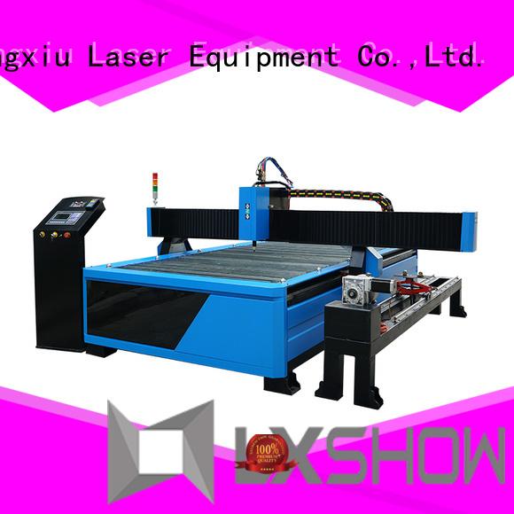Lxshow cnc plasma table wholesale for logo making