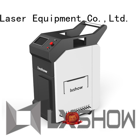 Lxshow laser clean rust wholesale for work plant