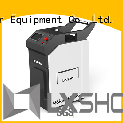 Lxshow hot selling laser cleaning rust at discount for factory