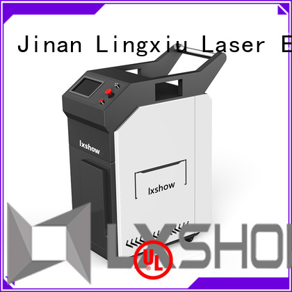 Lxshow laser cleaner wholesale for work plant