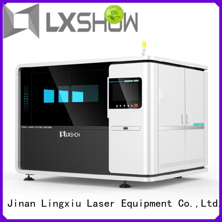 Lxshow cnc laser cutter wholesale for Clock