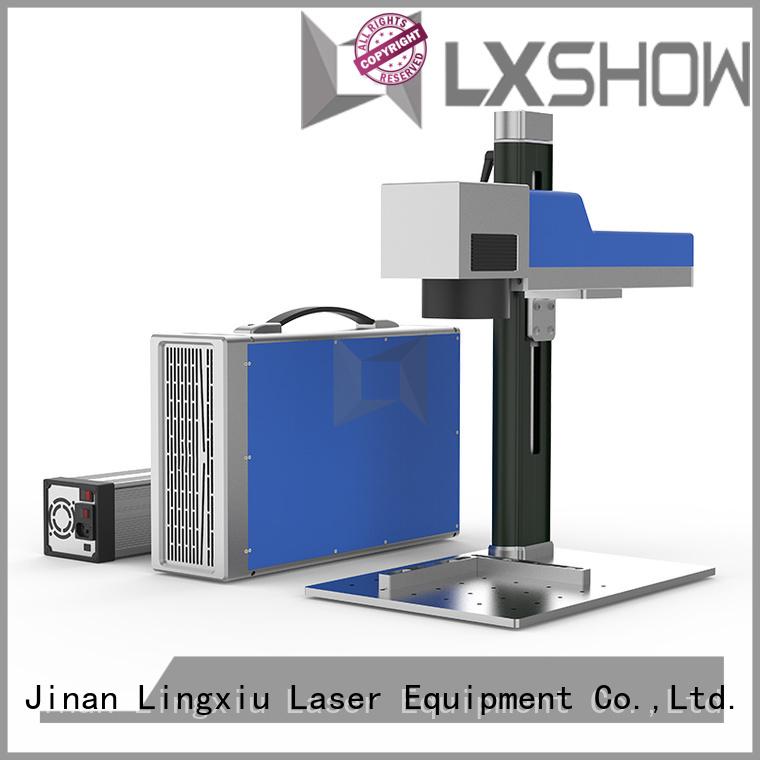 Lxshow laser marking manufacturer for Clock