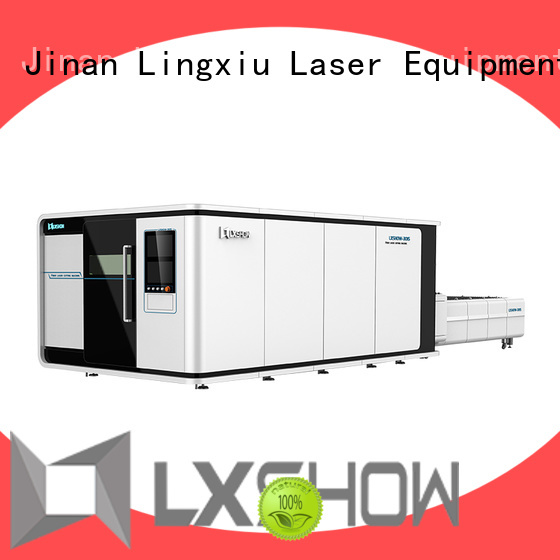 Lxshow metal laser cutter factory price for Clock