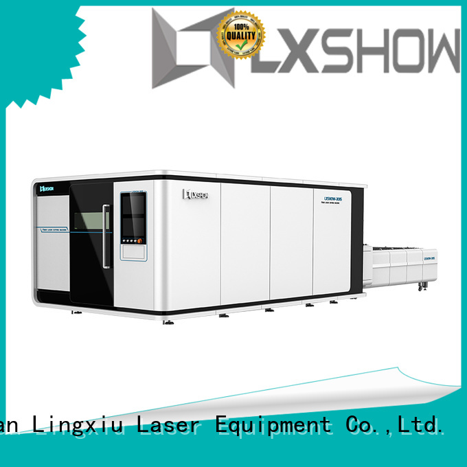 Lxshow laser cutter for metal factory price for packaging bottles